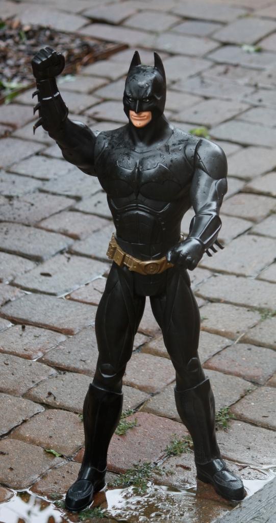 Batman in rain 007