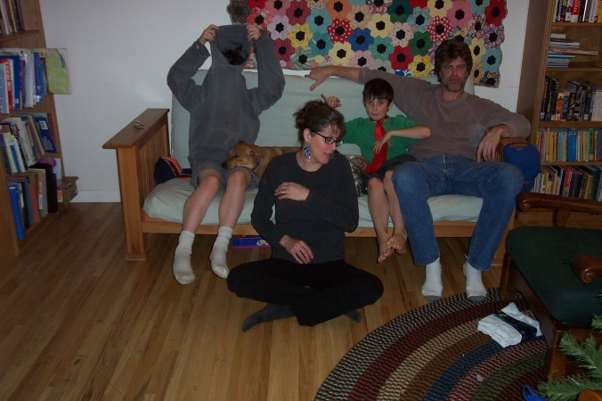l-r: Wildebeest, Zoey, Tracy, Coco, Zebu, and Uncle Pizza.