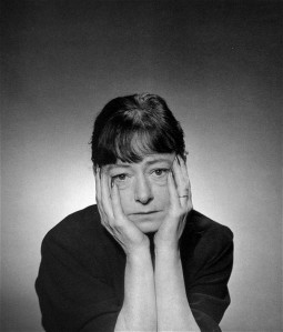 Dorothy Parker was 50 years old when George Platt Lynes took this portrait in 1943.