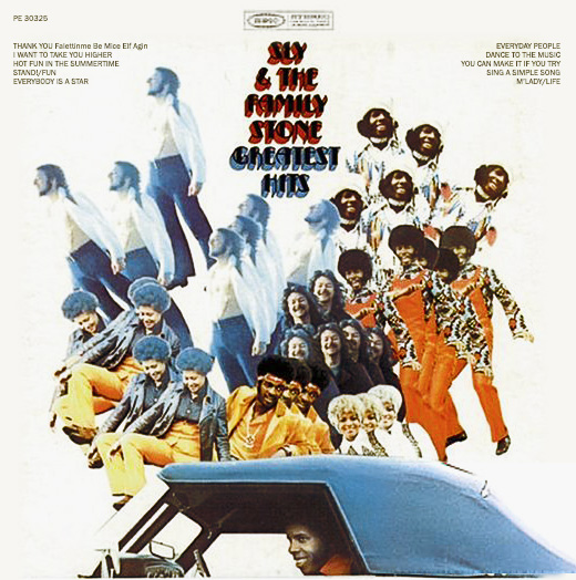 Sly & Family Stone album cover