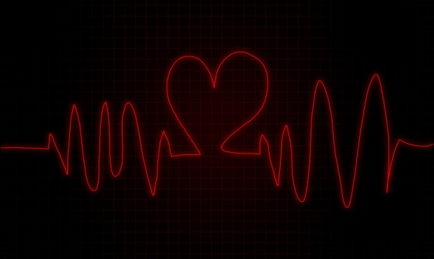 beating heart clipart