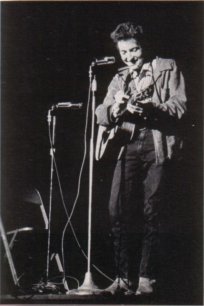 Bob Dylan in November 1963 (Unknown [Public domain], via Wikimedia Commons)