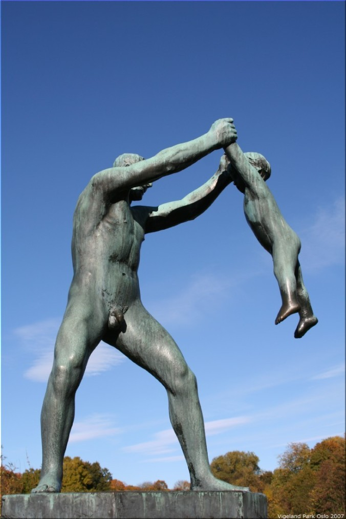Sculpture by Gustav Vigeland